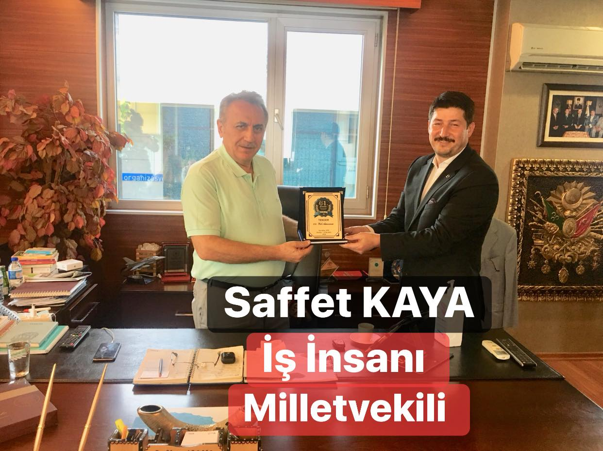 Tekder'den 23.Dönem Milletvekili Saffet Kaya'ya Ziyaret!