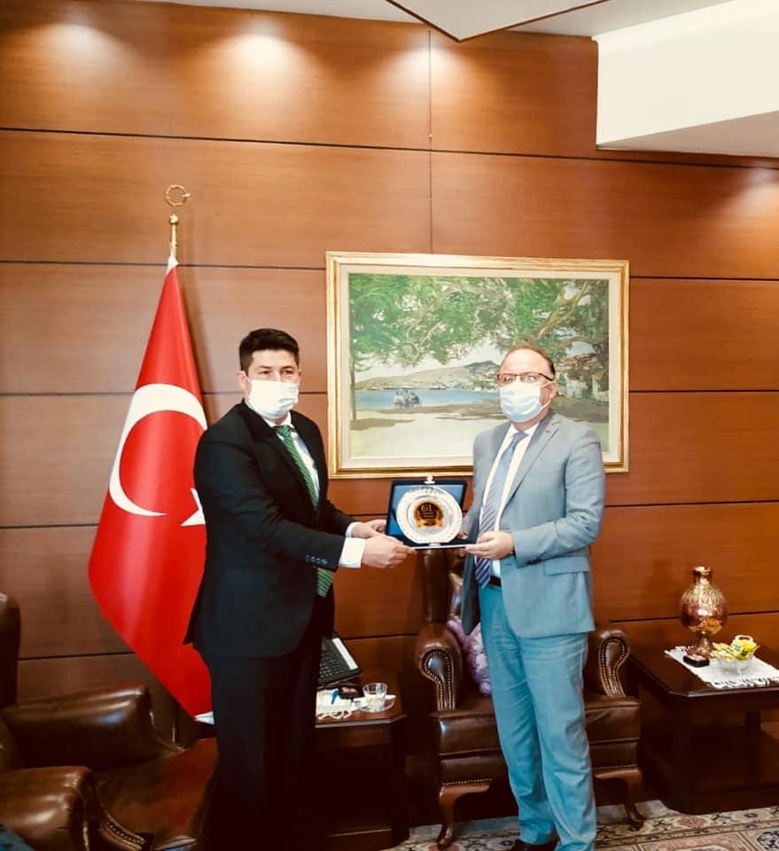 Tekder'den Zonguldak Valisi Mustafa Tutulmaz'a Hayırlı Olsun Ziyareti!