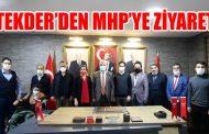 TEKDER'den, Milliyetçi Hareket Partisi (MHP) İlçe Teşkilatına ziyaret!